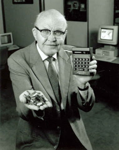 Jack Kilby & Robert NoyceThe Integrated Circuit
