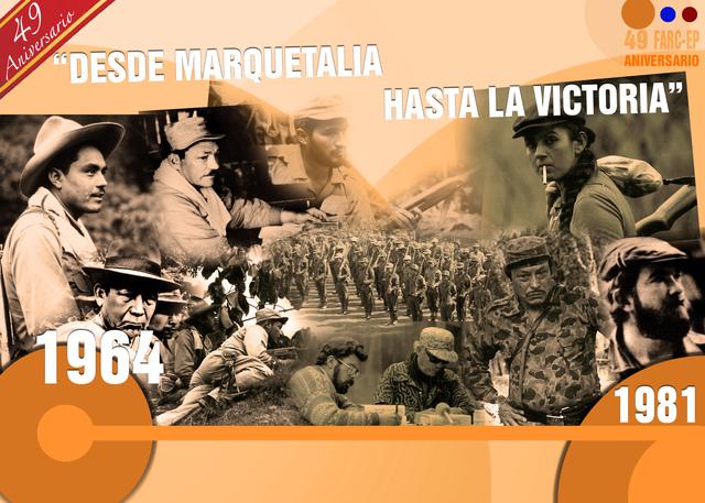 De Marquetalia a La Habana: 49 años luchando por la paz