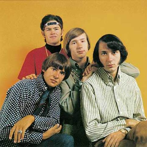Manufactured pop acts: The Monkees