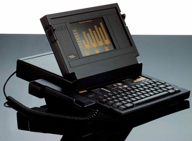 The first model laptop