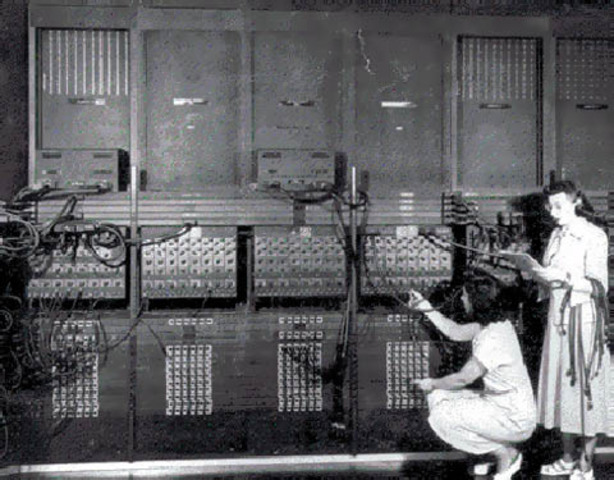 The first computer-electronic numerical inregrator and computer(ENIAC)