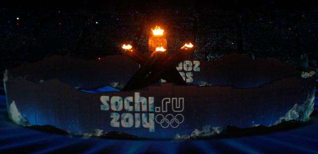 Открытие Зимних Олимпийских игр 2014