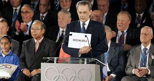 Сочи назван городом проведения зимних Олимпийских игр в 2014 году