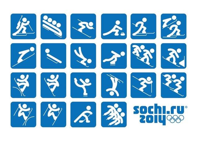 Выбрана эмблема зимней Олимпиады 2014 года