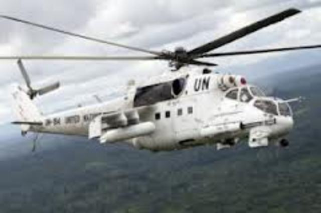 MONUSCO Helicopters