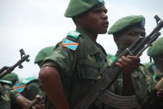 Congolese Soldiers Switch Sides