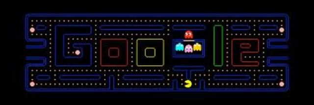 Google Joins Pac man