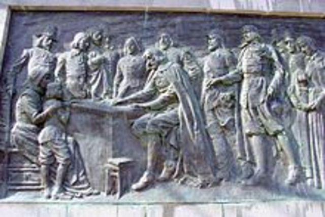 Mayflower Compact written