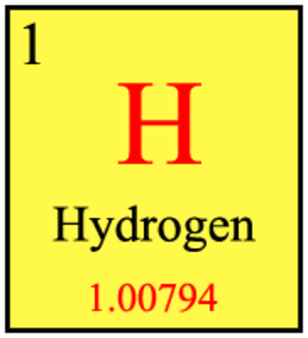 Discovery of element 1 - Hydrogen
