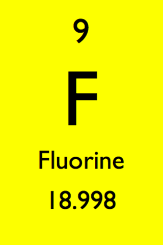 Discovery of element 9 - Fluorine