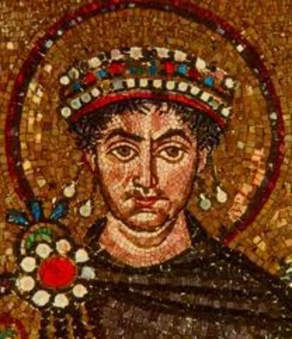 Byzantine Emperor Justinian