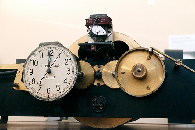 L'horloge parlante