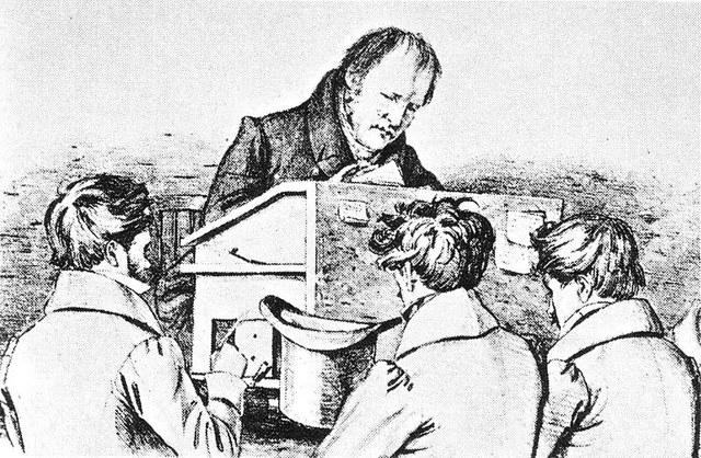 El Idealismo año 1850