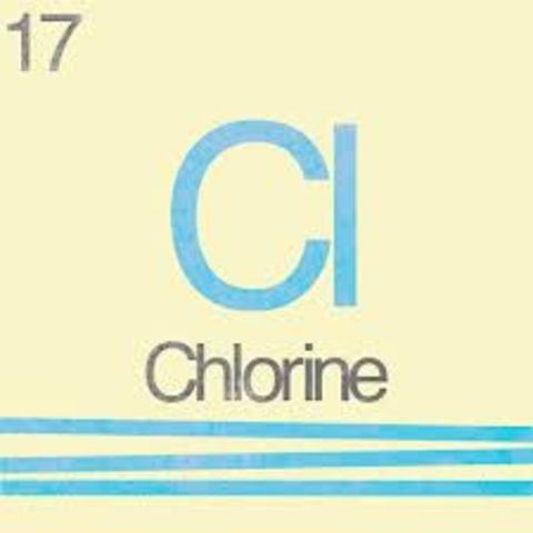Discover of element 17 - Chlorine