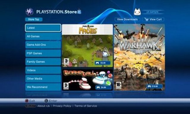 New PS Store revealed