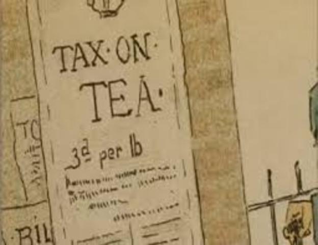 British Action: Tea Act