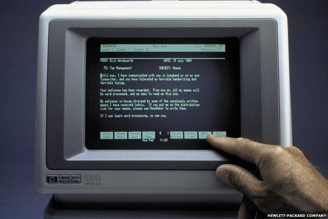 Primer Ordenador con pantalla táctil