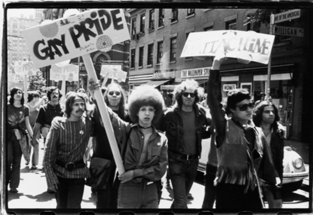 Protesters from Stonewall Riot
