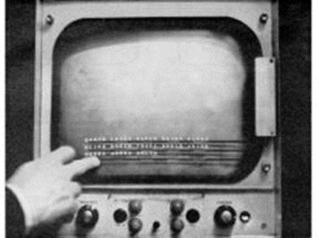 Primera pantalla táctil