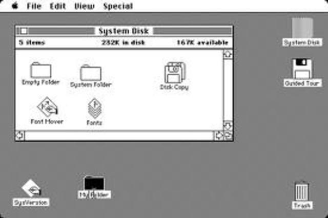 Primera versión de Mac OS