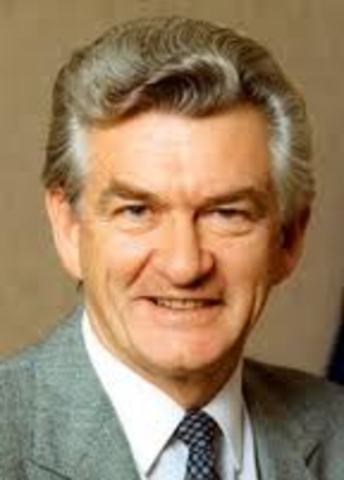 Robert Hawke, 23rd PM