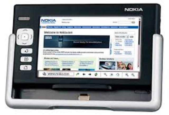 tablet Nokia 770 Internet