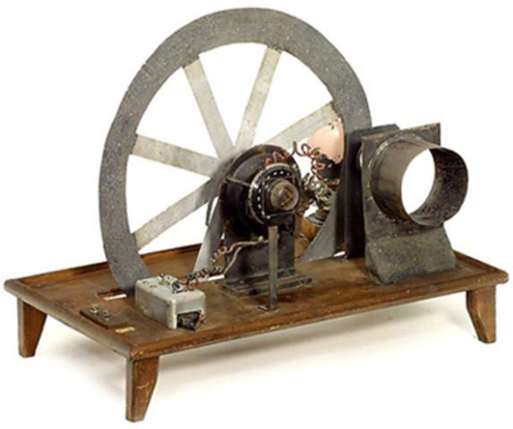 Invención del Disco de Nipkow de Paul Nipkow