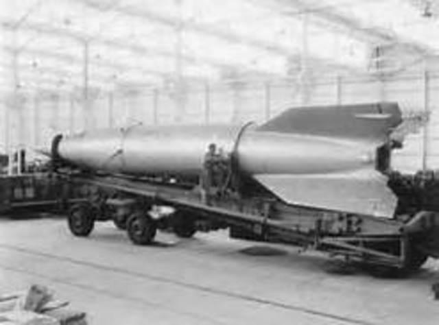 V2 Rocket Launch