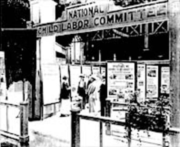 Formed National Child Labor Committee