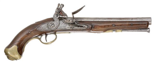 First TRUE Flintlock gun