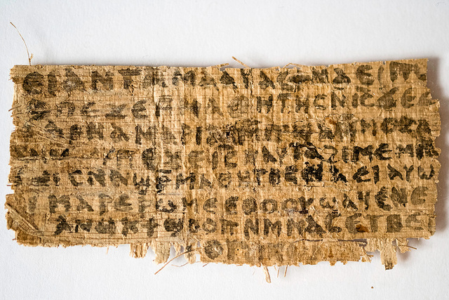 Earliest Surviving Papyrus Scrolls