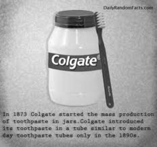 colgate toothpaste a brief history The history of toothpaste, a timeline made with timetoast's free interactive timeline making software.