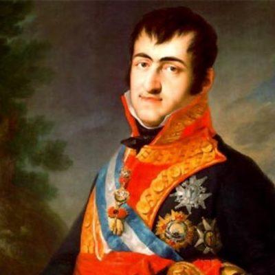 Fernando VII.aren erregegoa timeline