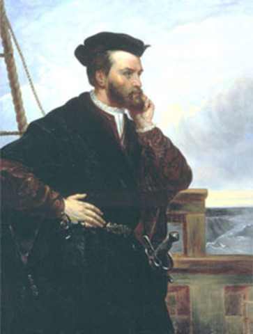 Jacques Cartier First Voyage (1534)