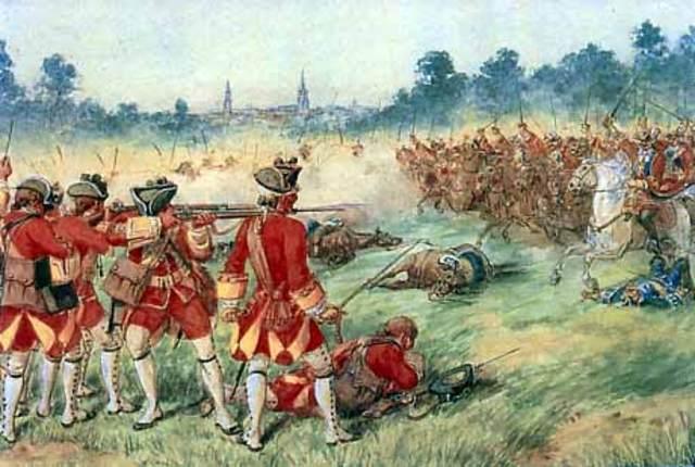 Beginning of Seven Year War (1756-1763)