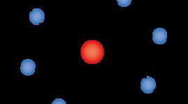 Development of the Atomic Model timeline