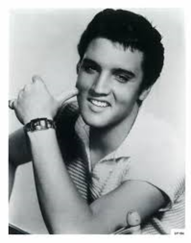 Elvis's first national performance