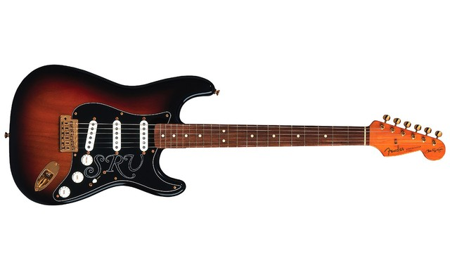 Bought a Stevie Ray Vaughan signature stratocaster