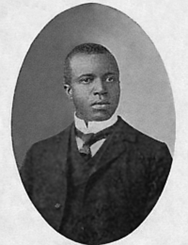 Scott Joplin introduces Ragtime to the world