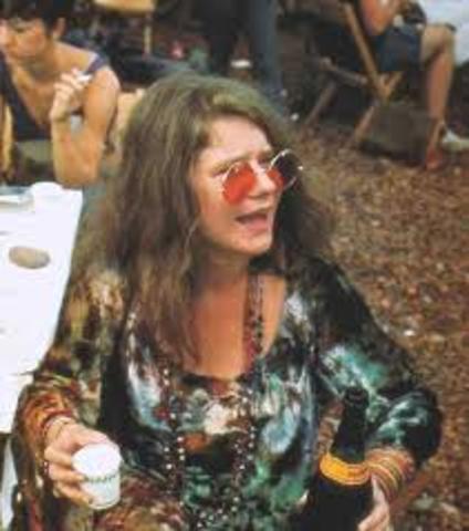 Janis Joplin makes a debut