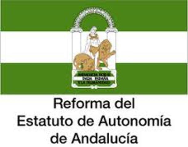 Ley Orgánica 2/2007, de 19 de marzo, de reforma del Estatuto de Autonomía para Andalucía