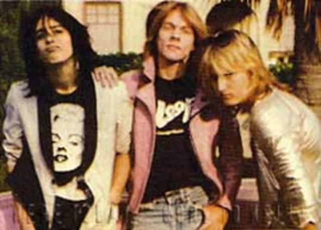 Axel se una a una banda llamada L.A. Guns