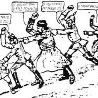 World War I (1914) timeline
