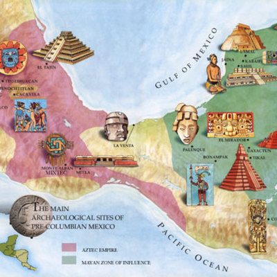 History of the Mesoamerica (In BC) Before Christ timeline