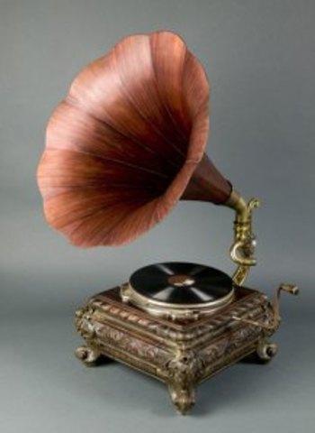 Patente del gramófono por Berliner
