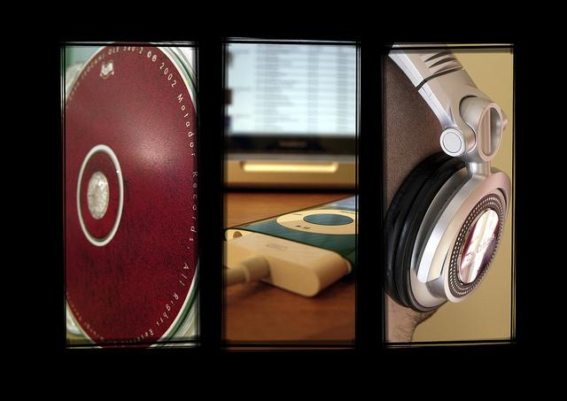 DJ Kool Herc inventing scratching records