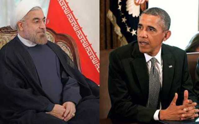 President Barack Obama and Rouhani