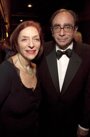 R.L. Stine with kind, Wife Jane Waldhorn