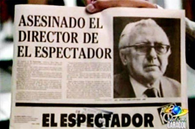 asesinado  Guillermo Cano Isaza