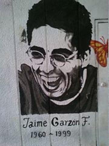 asesinado Jaime Garzón.
